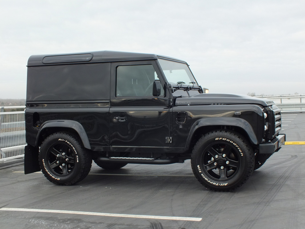 Land Rover Defender Xs 90 Urban Truck Carbon Ed 2014 For